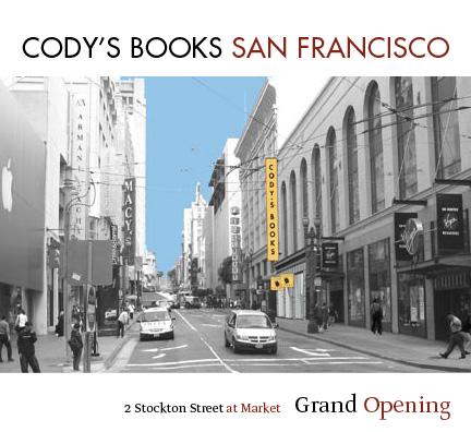 Bookstore opening invitation
